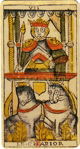 Le Chariot - VIP Tarot